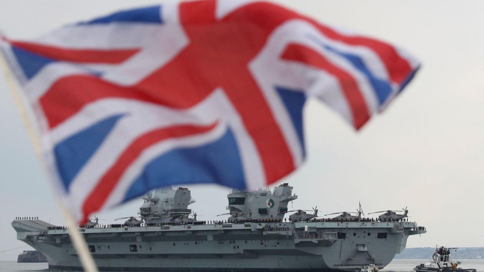 """Châu Âu lo lắng, Mỹ mừng thầm trước chiến lược của Anh dùng hải quân làm """"át chủ bài"""""""
