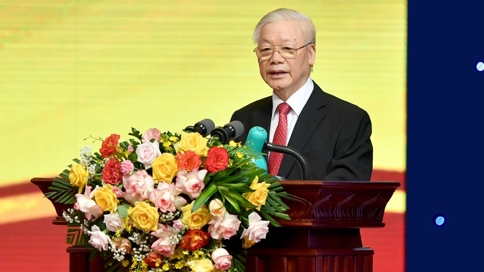 Phát biểu của Tổng Bí thư tại Lễ kỷ niệm 70 năm thành lập ngành Ngân hàng Việt Nam