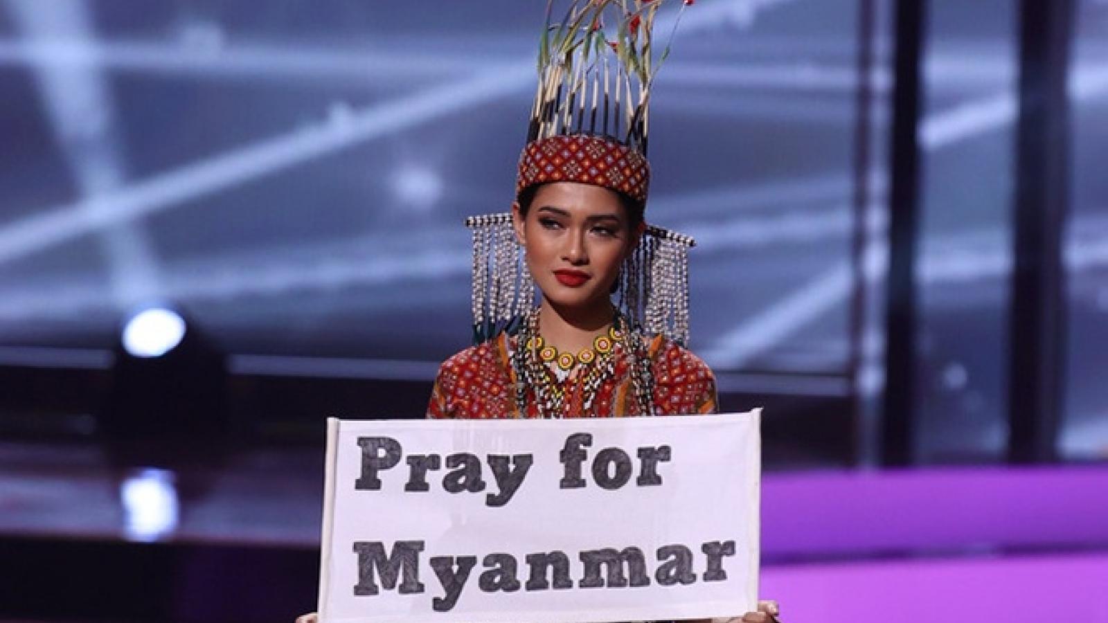 """Dàn Hoa hậu vẫn """"tỏa sáng"""" trước sự cố trang phục dân tộc tại Miss Universe"""