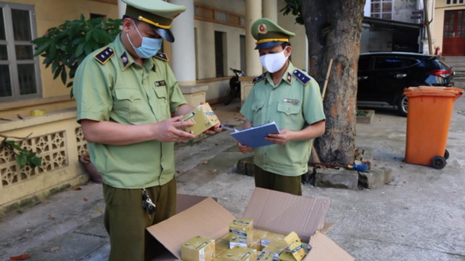 Thu giữ và xử lý hàng nghìn điếu thuốc lá điện tử nhập lậu