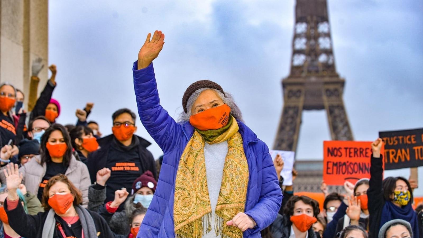 Vụ kiện chất độc da cam tại Pháp: Luật sư của bà Trần Tố Nga sẽ kháng cáo