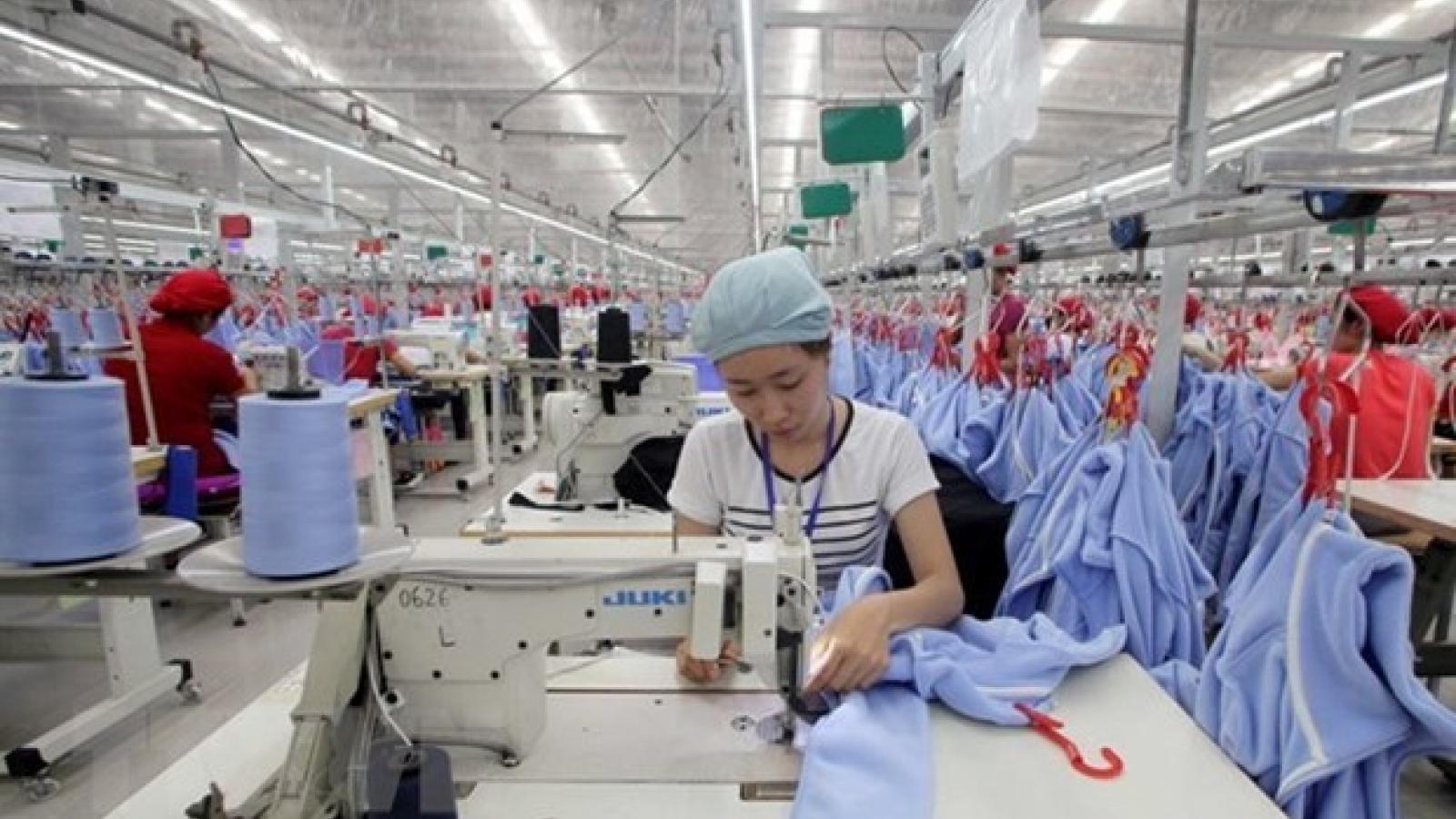 April industrial production expands 24.1%