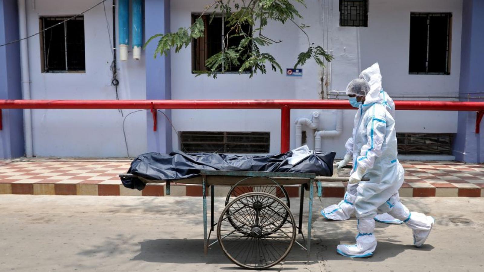 Ấn Độ ghi nhận hơn 4.000 ca tử vong do Covid-19 trong ngày thứ hai liên tiếp