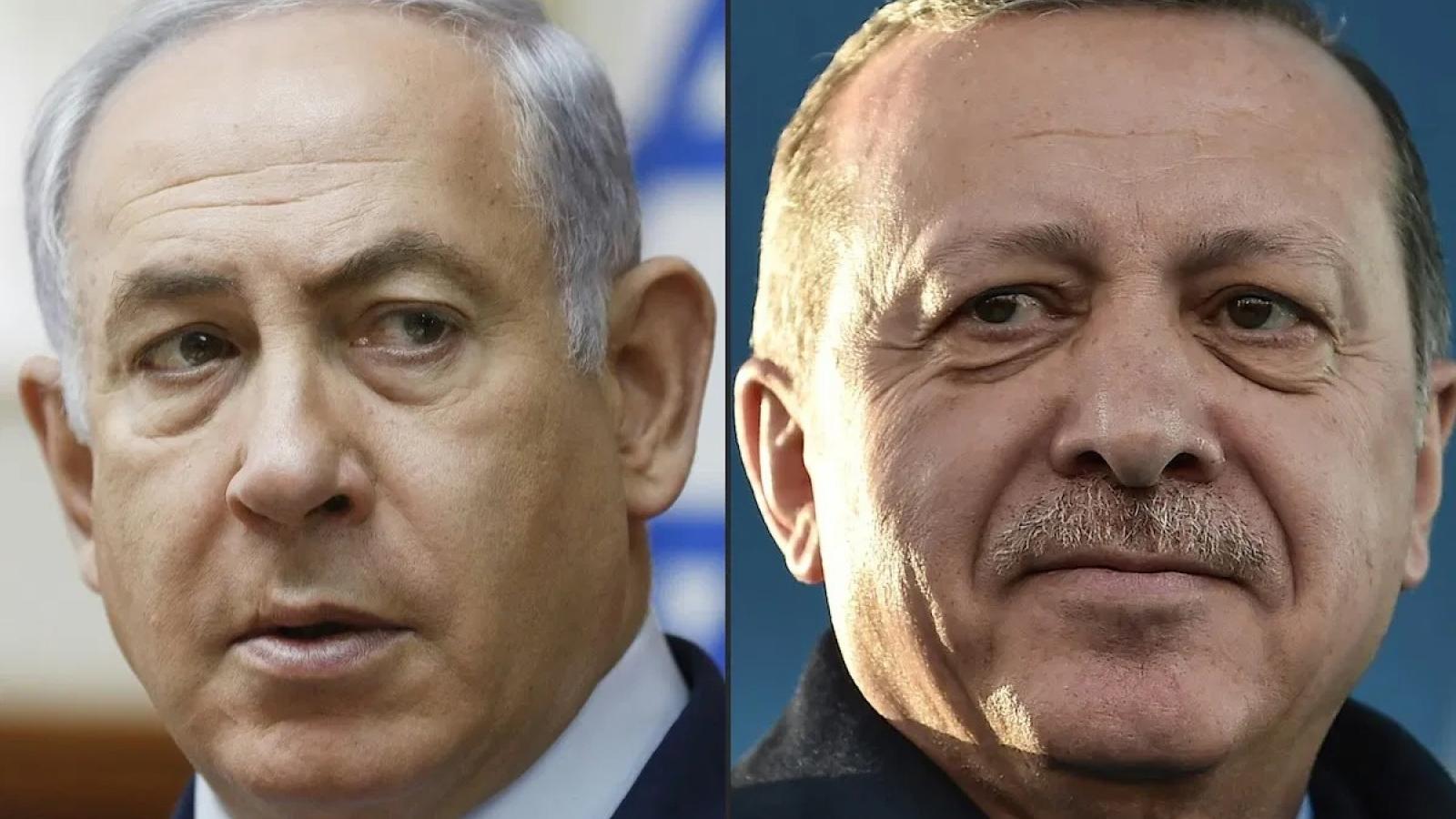 Xung đột Israel-Hamas có nguy cơ phá tan sự hàn gắn mong manh giữa Thổ Nhĩ Kỳ và Israel