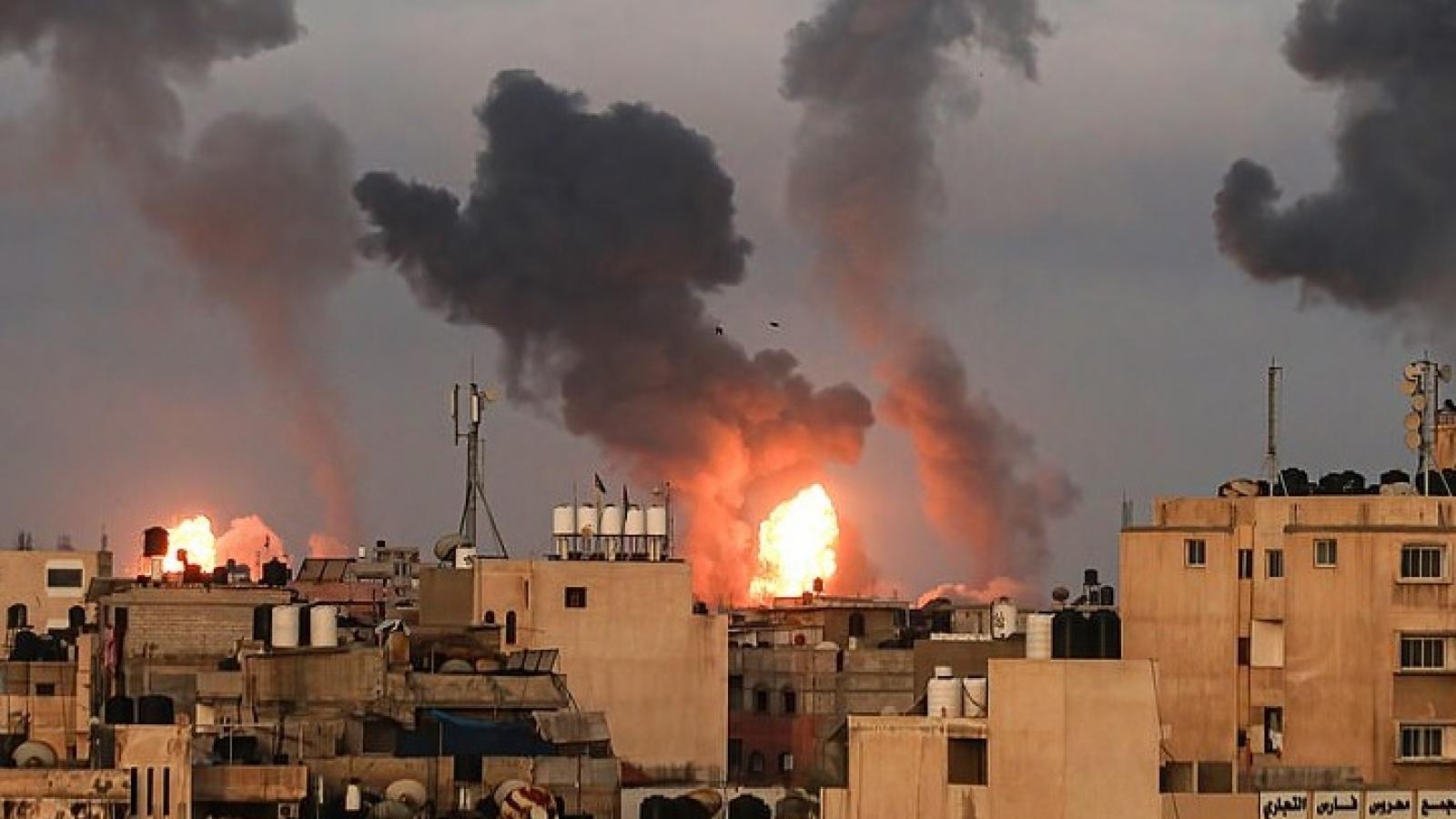 Israel hạ được 2 trùm tình báo Hamas và phá hủy nhà của 3 chỉ huy quân sự đối phương