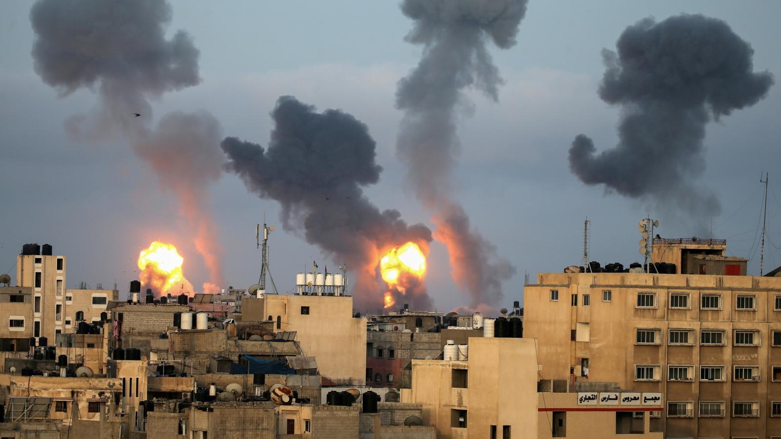 Israel tiếp tục tấn công, quốc tế nỗ lực đạt thỏa thuận ngừng bắn ở Gaza