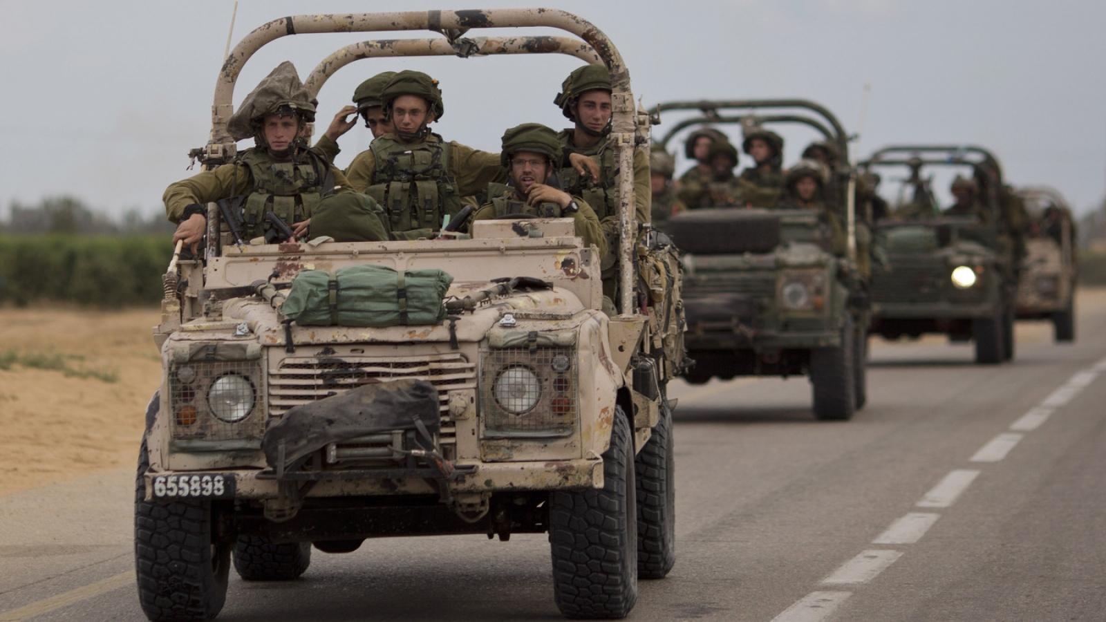 Quân đội Israel chuẩn bị chiến dịch trên bộ nhằm vào dải Gaza
