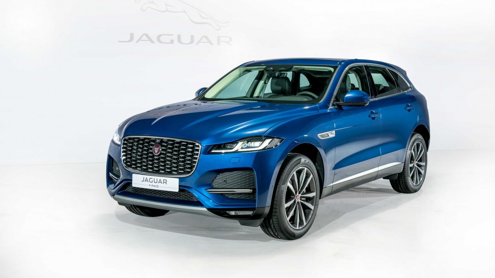 Khám phá Jaguar F-Pace 2021 - Mẫu SUV thể thao đa dụng đến từ Anh