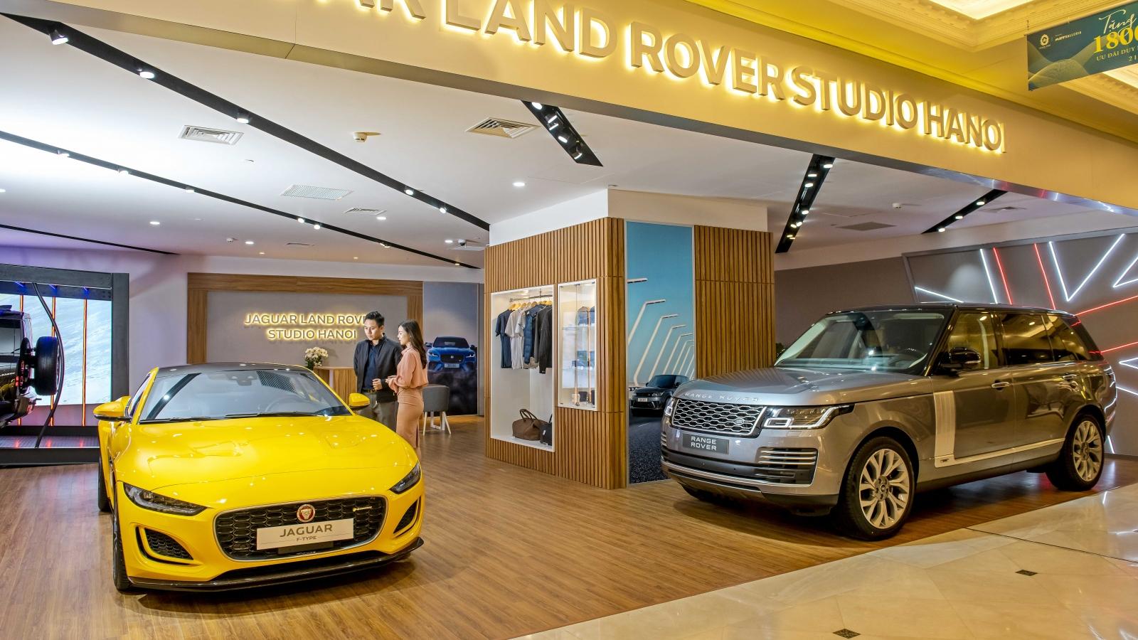 Khám phá không gian trưng bày xe Jaguar và Land Rover tại Hà Nội