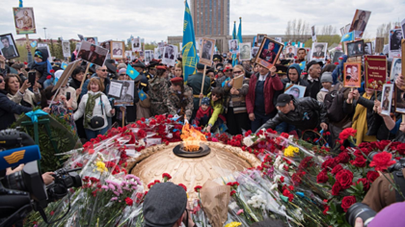 Lo ngại Covid-19, Kazakhstan hủy các sự kiện kỷ niệm Ngày Chiến thắng phát xít