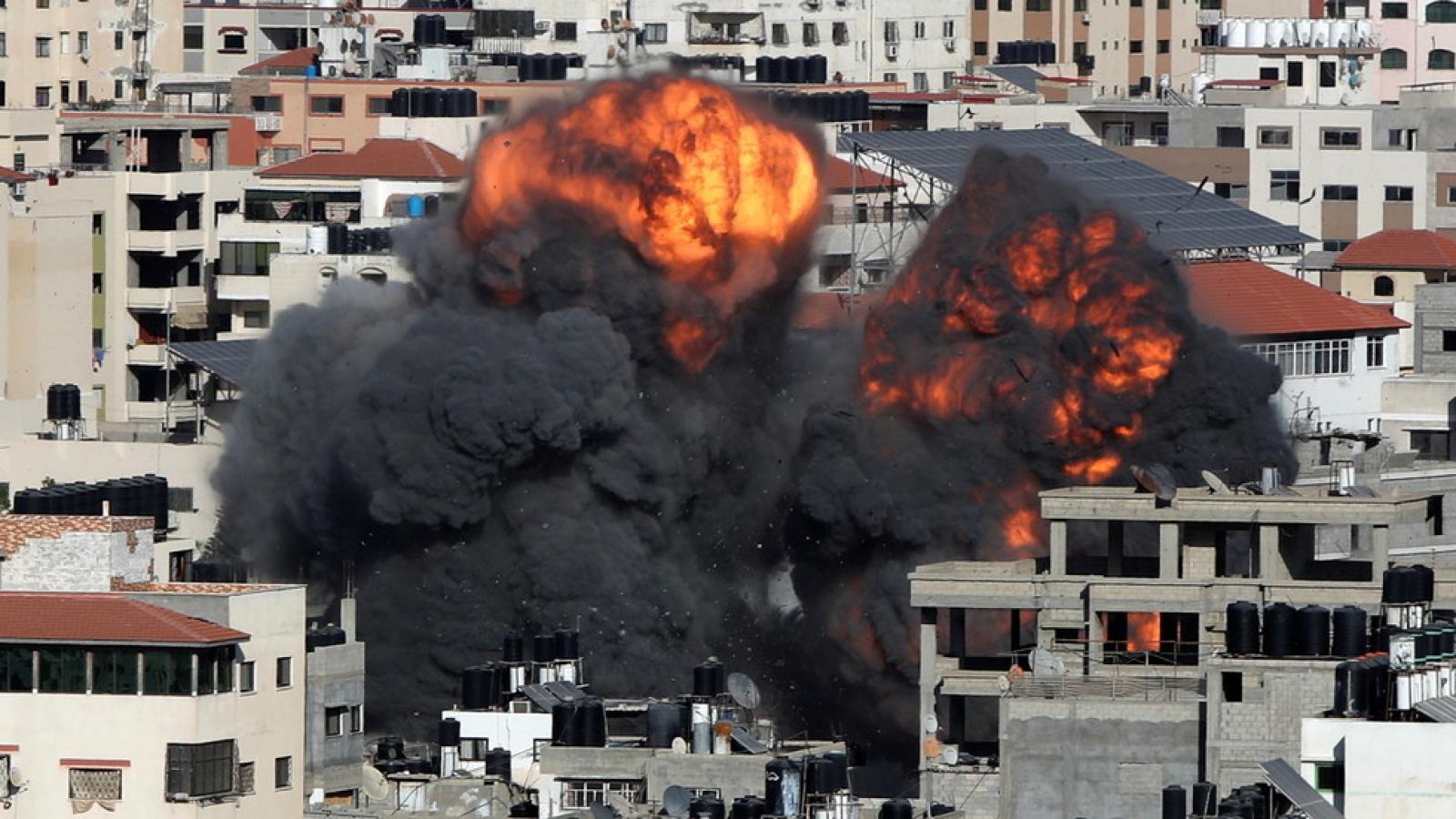 Israel phá hủy văn phòng lãnh đạo an ninh của Hamas tại Gaza
