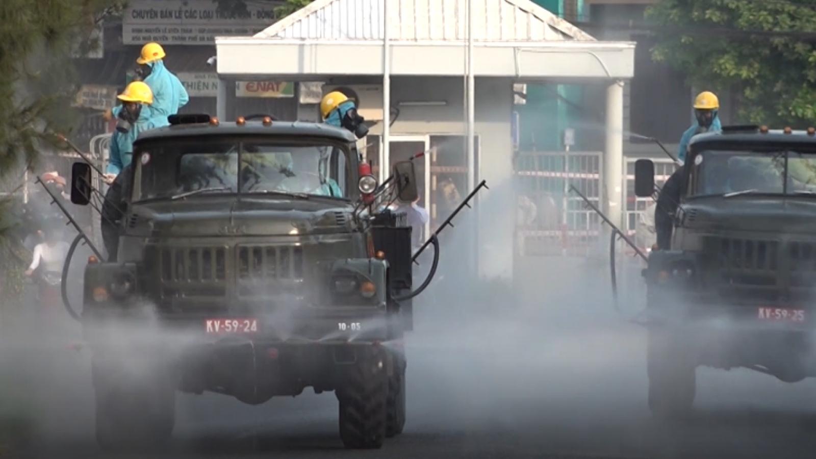 Đà Nẵng: Tiêu độc khử trùng toàn bộ khu công nghiệp An Đồn