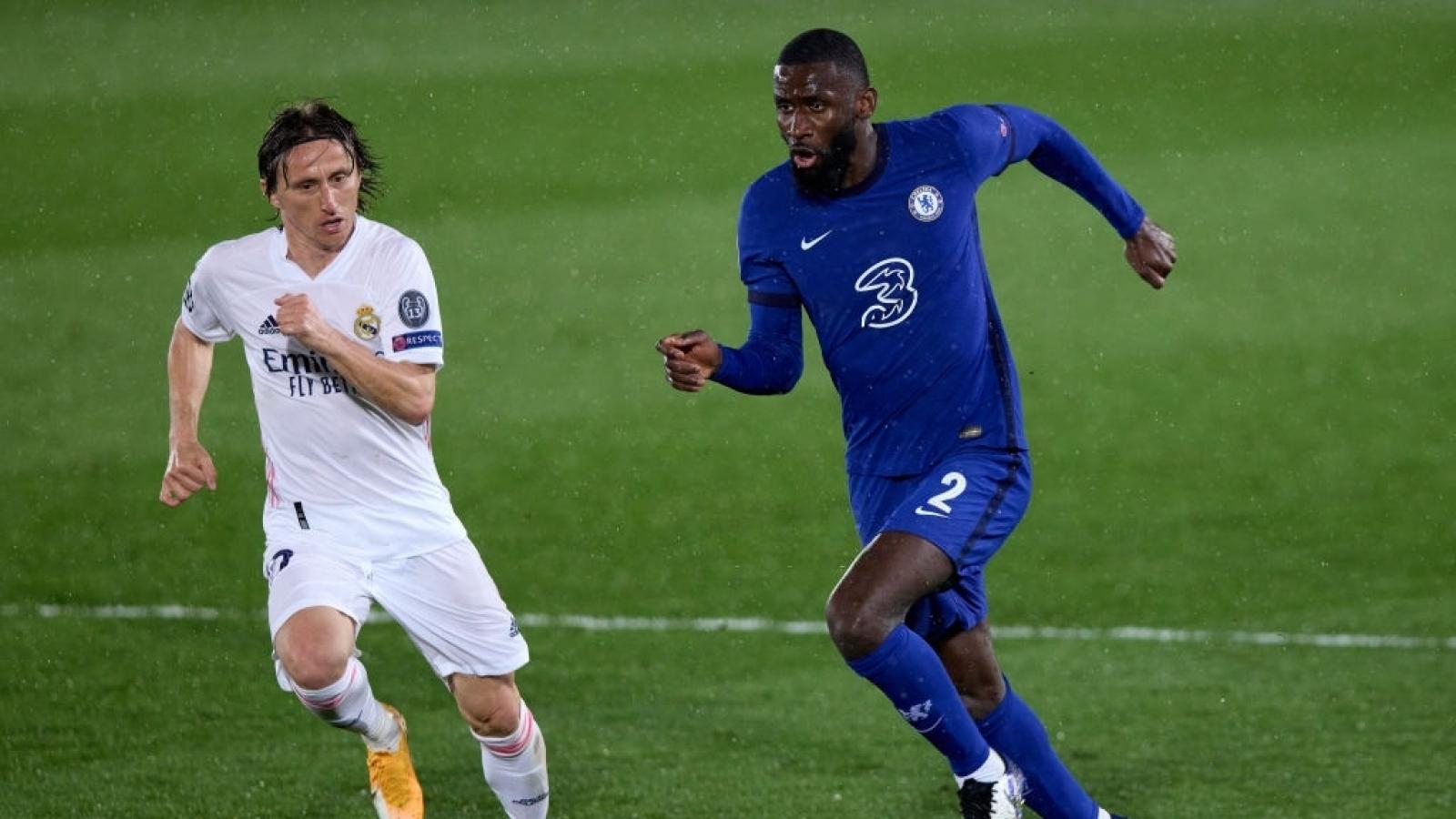 Chelsea nguy cơ vắng 2 trụ cột ở trận đấu với Real Madrid