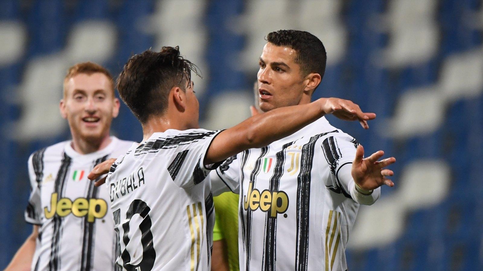 Ronaldo và Dybala đạt cột mốc 100 bàn cho Juventus trong cùng một trận đấu
