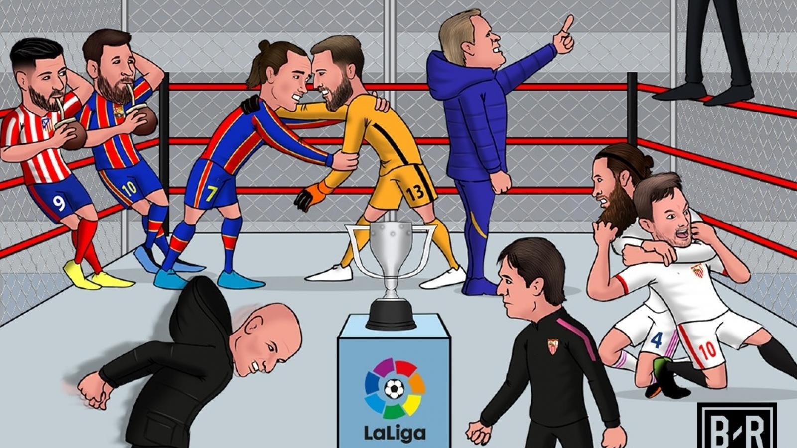 Biếm họa 24h: Ngày phán quyết ở La Liga