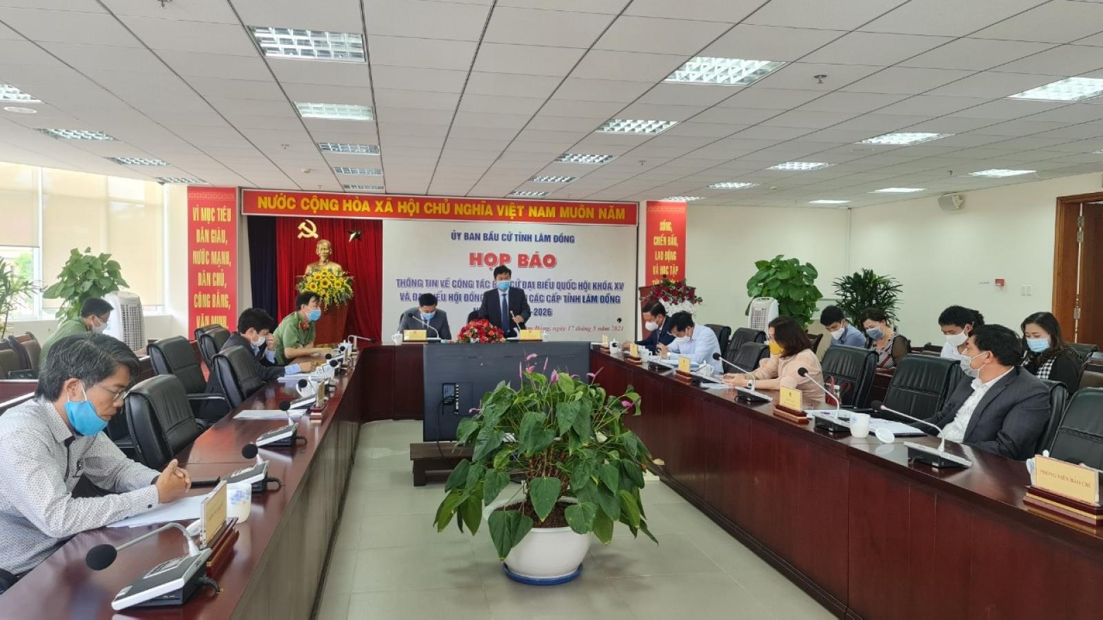 Các trường hợp F1, F2 tại Lâm Đồng sẽbỏ phiếu tại khu vực cách ly