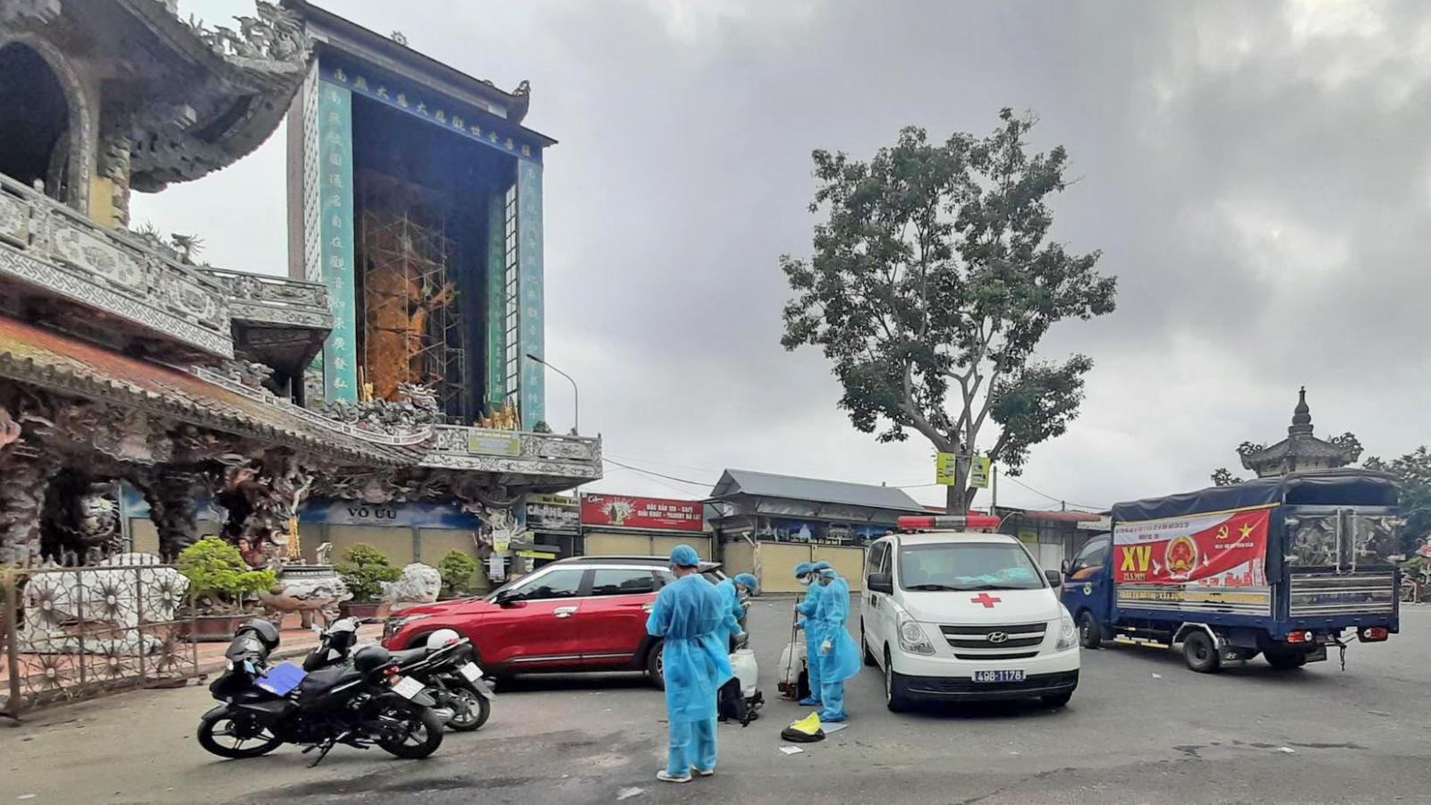 135 người tại Lâm Đồngliên quan đến BN3141 âm tính lần 2