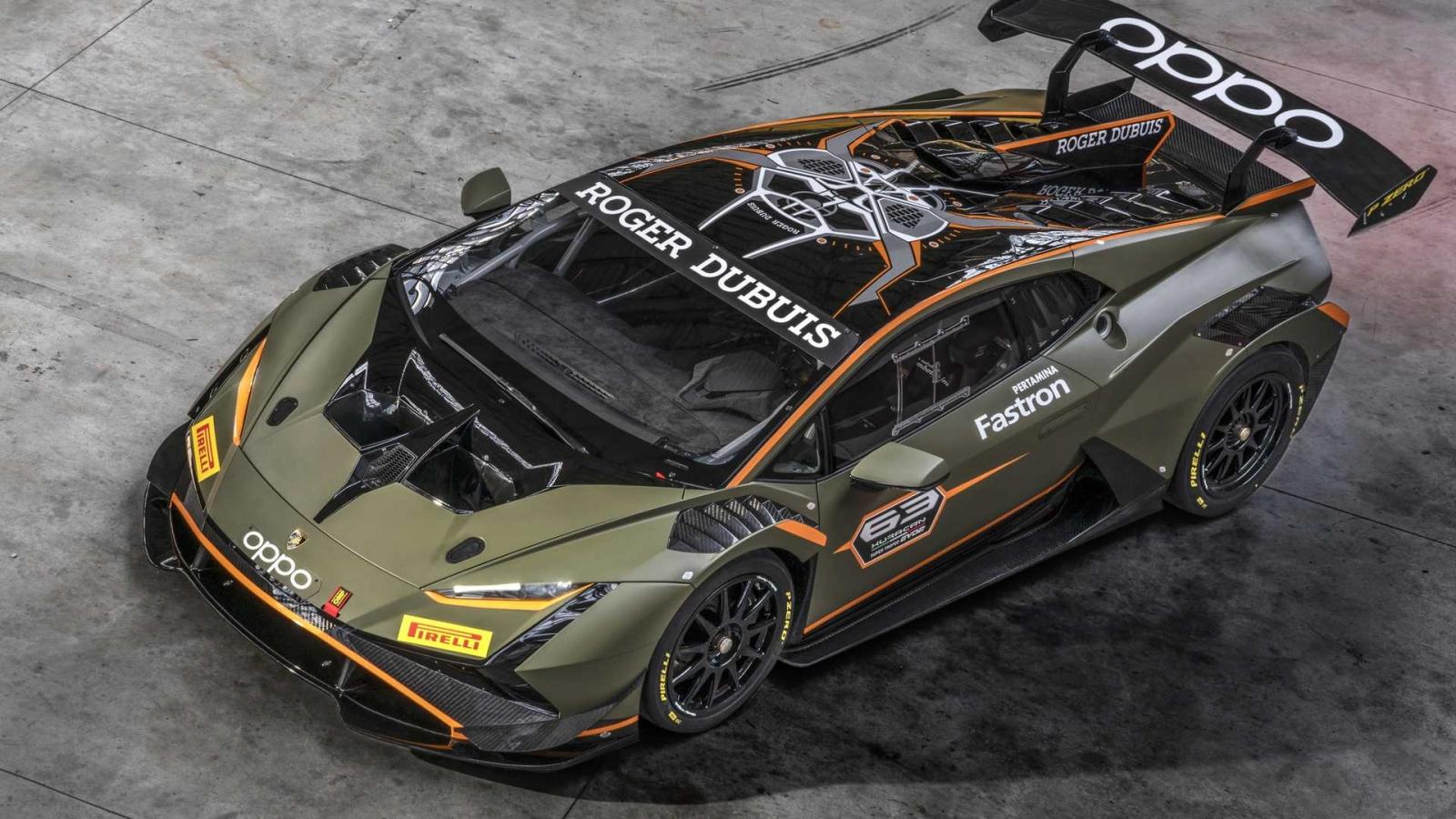 Lamborghini ra mắt siêu phẩm đường đua Huracán Super Trofeo EVO2