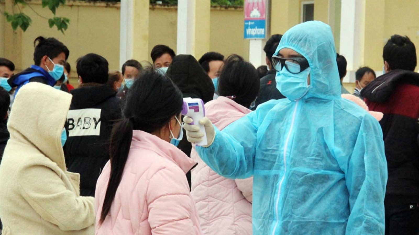 Lào Cai tiếp tục đẩy mạnh truy vết, cách ly các trường hợp nghi mắc Covid-19