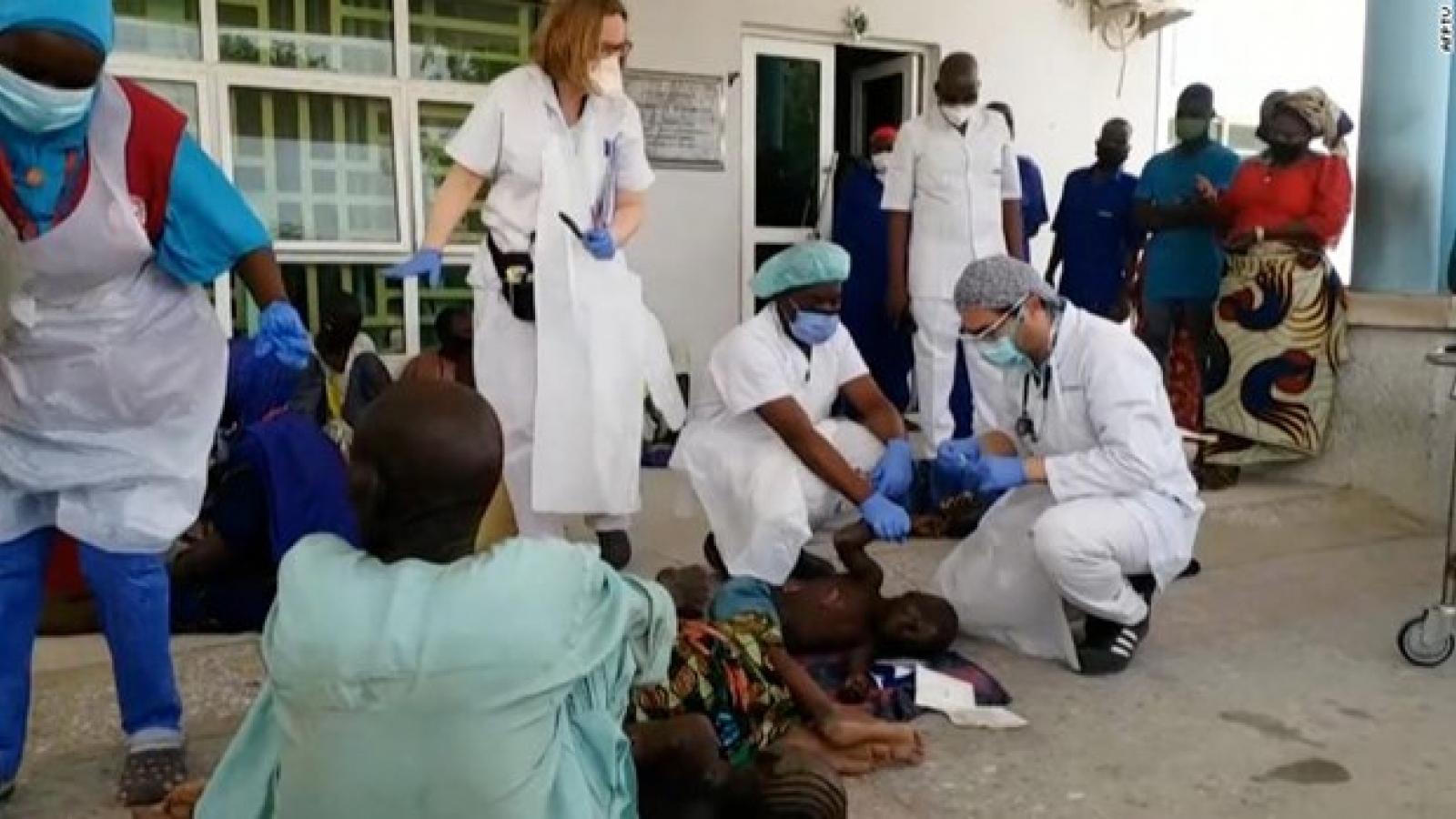 Lật thuyền tại Nigeria làm ít nhất 26 người thiệt mạng, 98 người mất tích