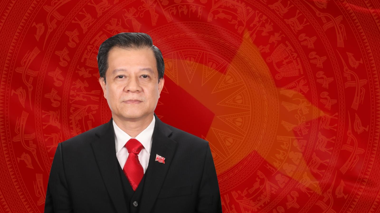 Quá trình công tác của tân Bí thư Tỉnh ủy An Giang Lê Hồng Quang