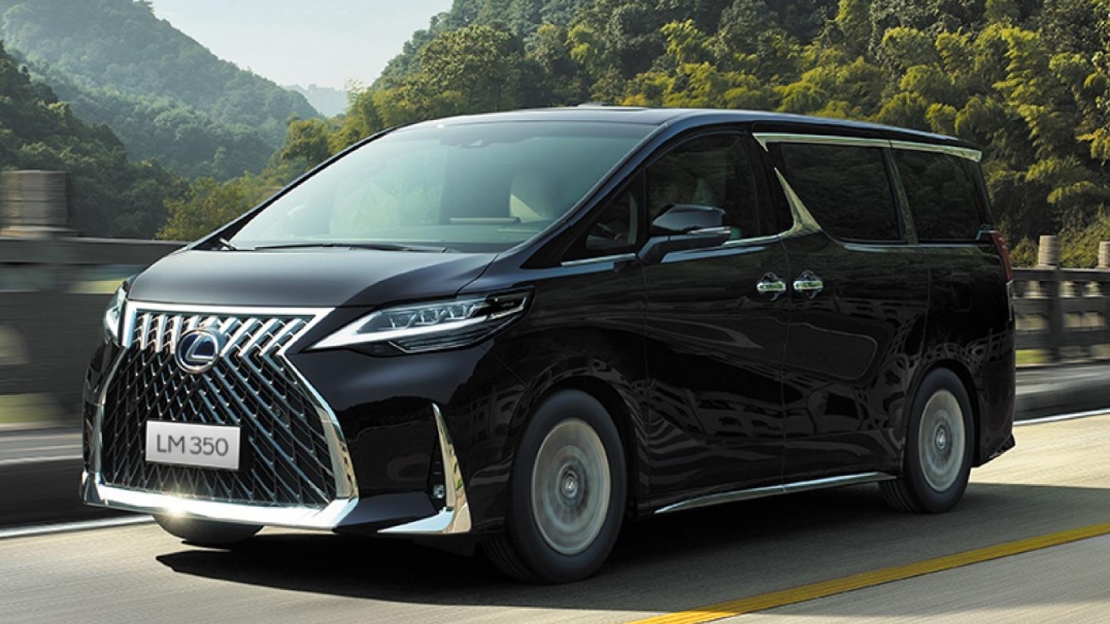 Lexus LM350 chính thức trình làng, giá cao nhất hơn 8 tỷ đồng