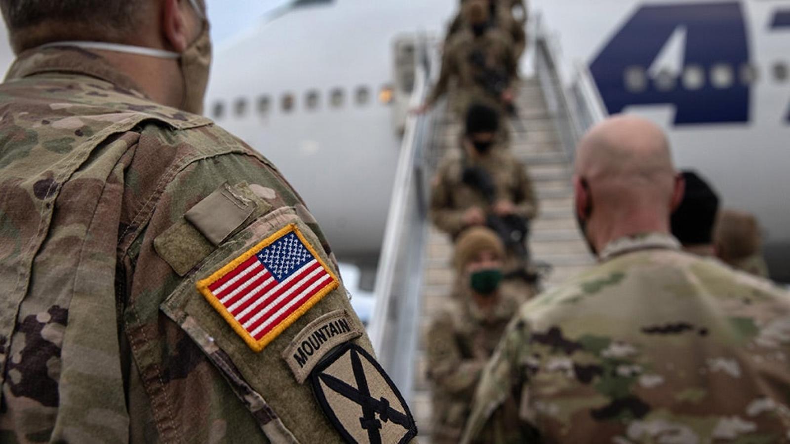"""Rút quân khỏi Afghanistan, Mỹ mất cơ hội khống chế """"sườn phía Tây"""" Trung Quốc"""