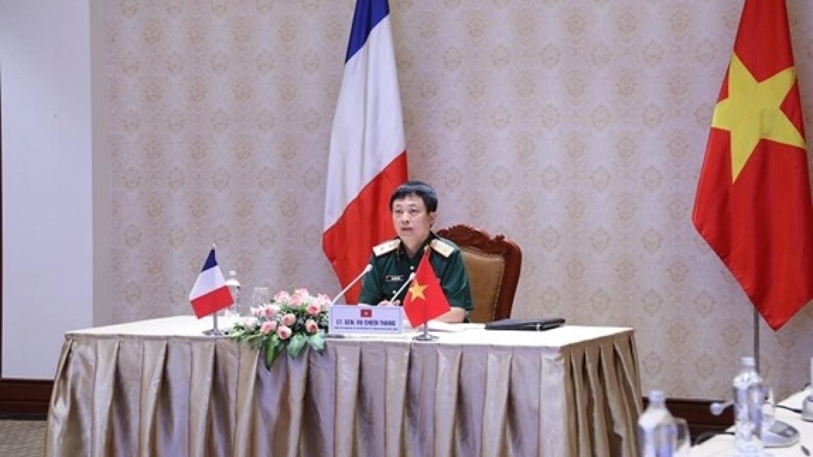 Working group for Vietnam-France defence ties meet via videoconference