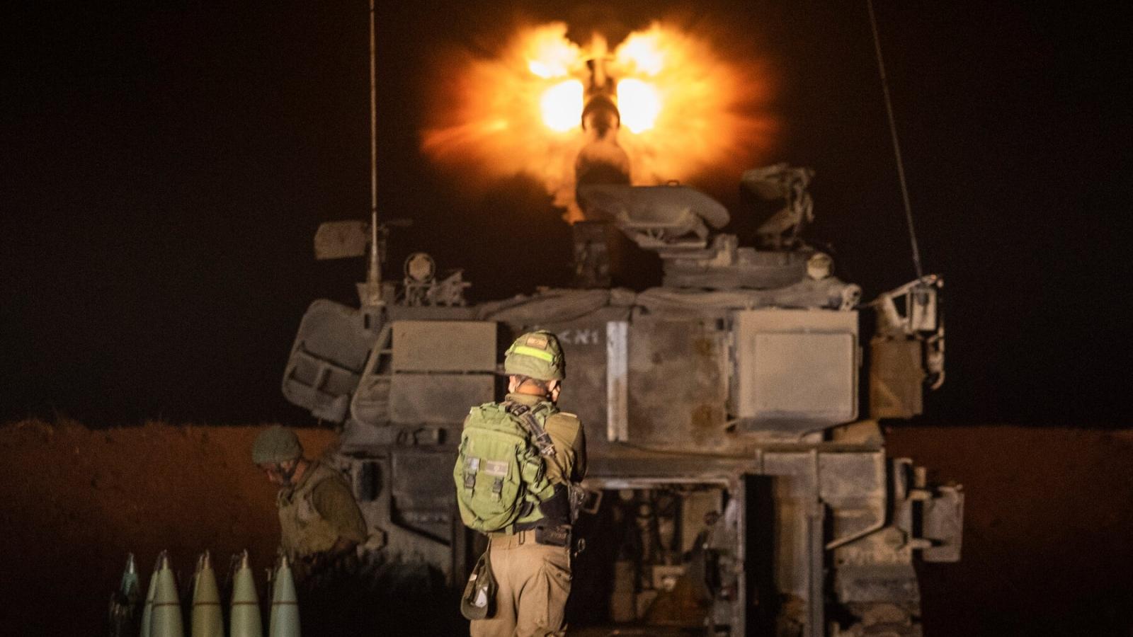 Israel huy động lục quân nã pháo vào Gaza, thương vong Palestine tăng cao