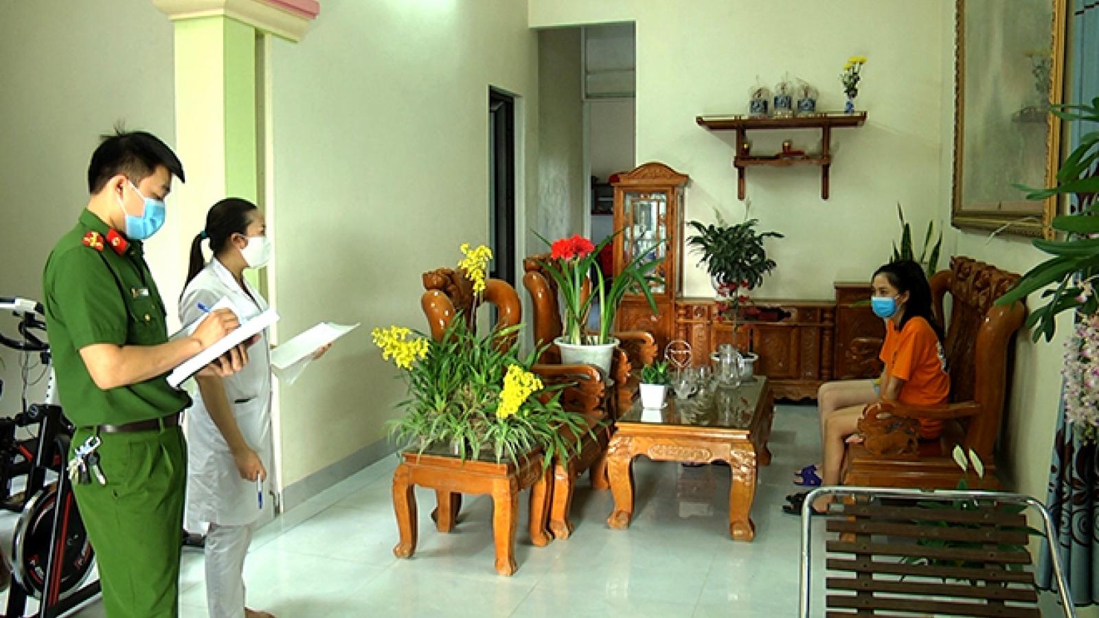 Yên Bái truy tìm người đến một số điểm tại tỉnh Lào Cai và Hà Nội