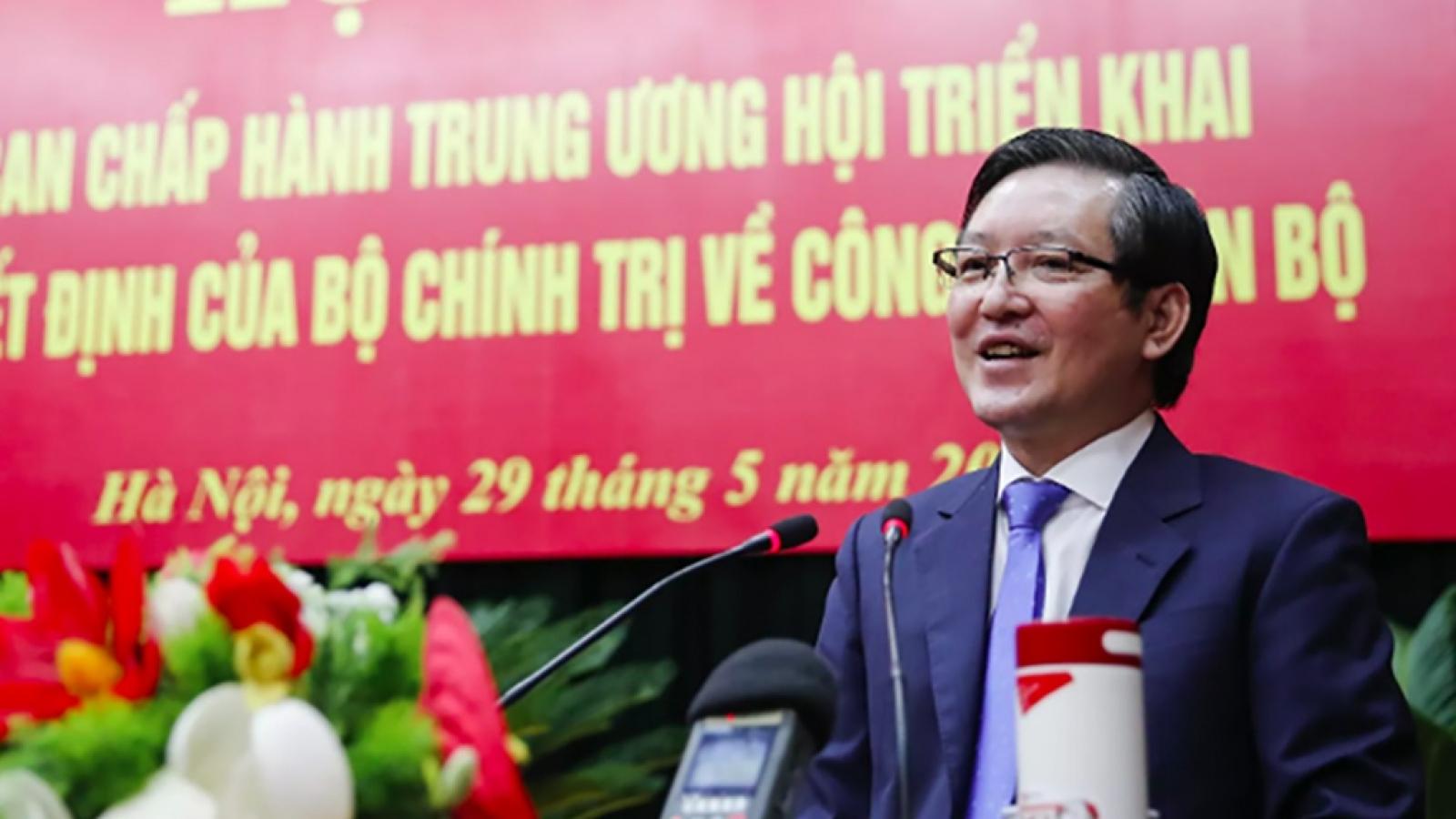 Tiểu sử Chủ tịch Hội Nông dân Việt Nam Lương Quốc Đoàn