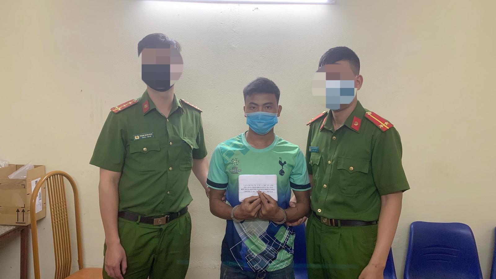 Bắt giữ đối tượng mua 2 bánh heroin từ Điện Biên về Hà Nội bán kiếm lời
