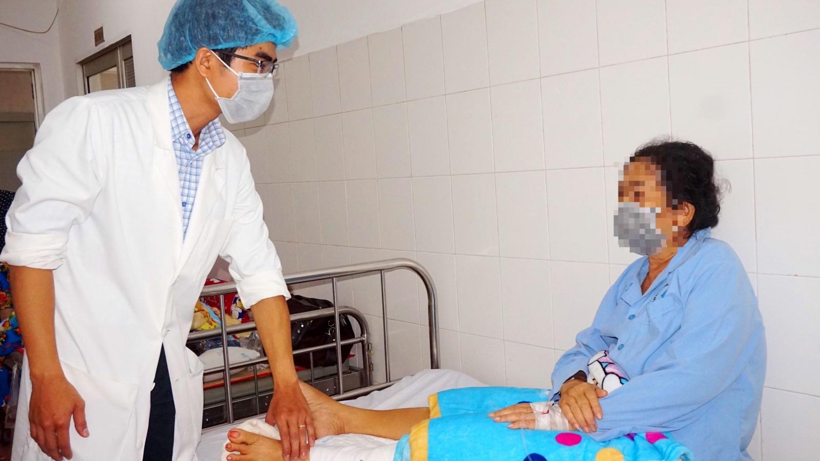 Phẫu thuật thành công cho nữ bệnh nhân có nguy cơ bị đoạn chi