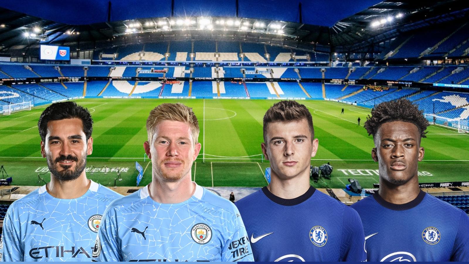 Dự đoán tỷ số, đội hình xuất phát trận Man City - Chelsea
