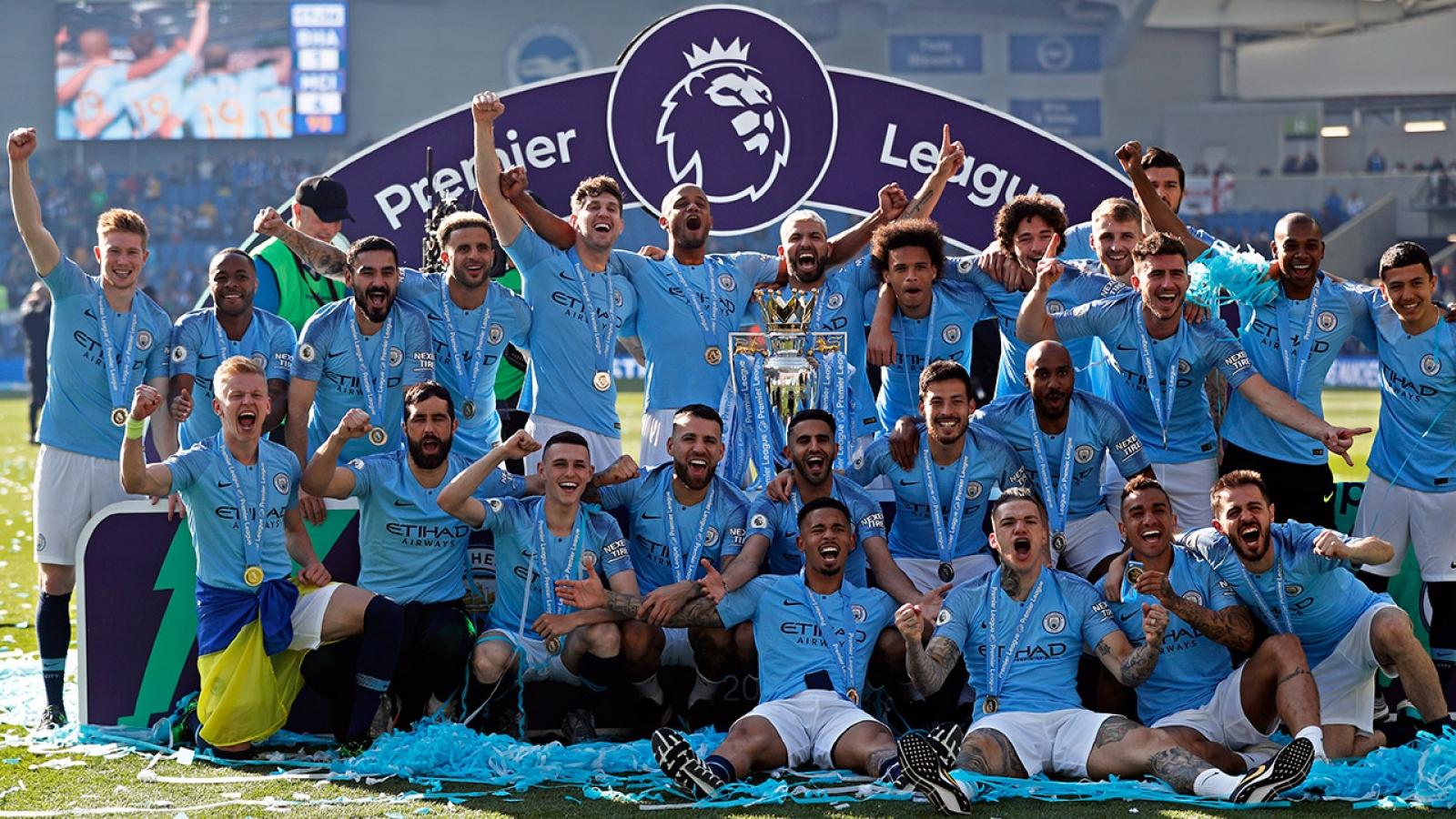 Hôm nay Man City sẽ lên ngôi vô địch Premier League?