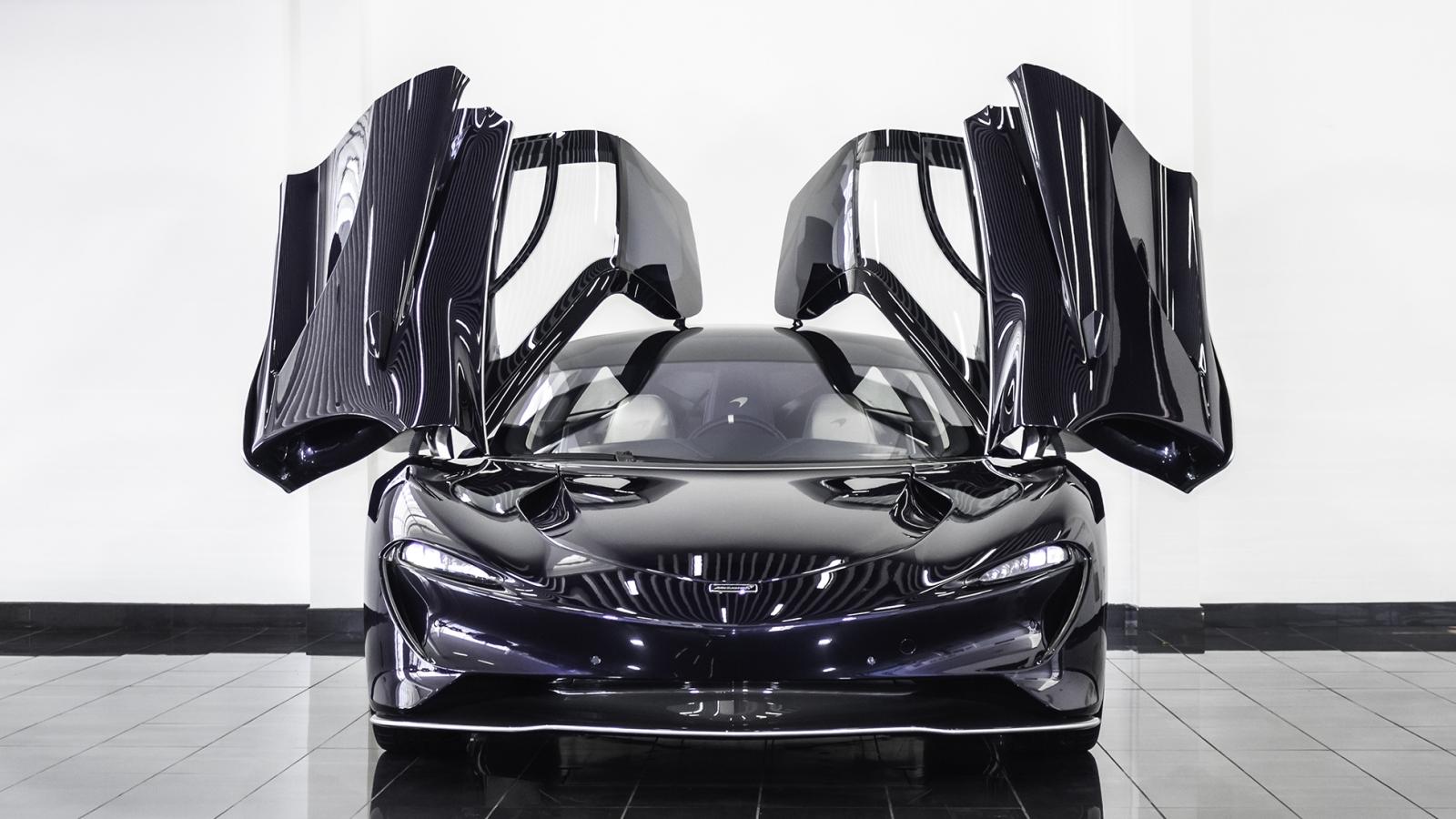 Siêu xe McLaren Speedtail mới đi 1km được rao bán gần 3,5 triệu USD