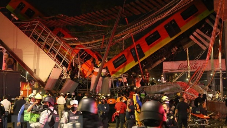 Vietnam sends condolences to Mexico over subway overpass collapse