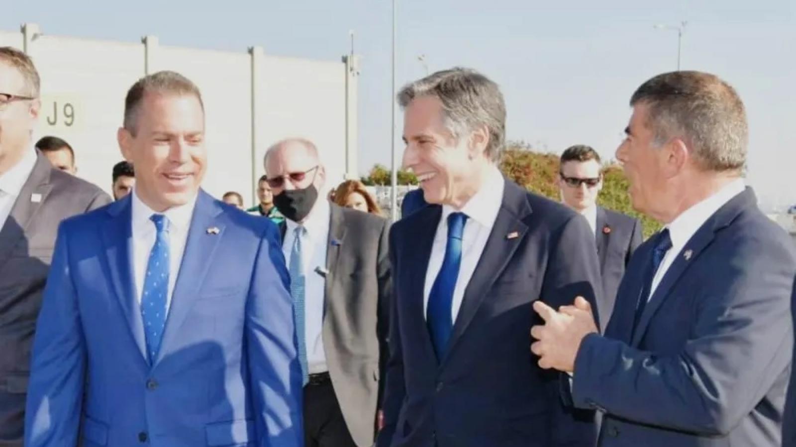 Ngoại trưởng Mỹ tới Israel hỗ trợ lệnh ngừng bắn ở Dải Gaza