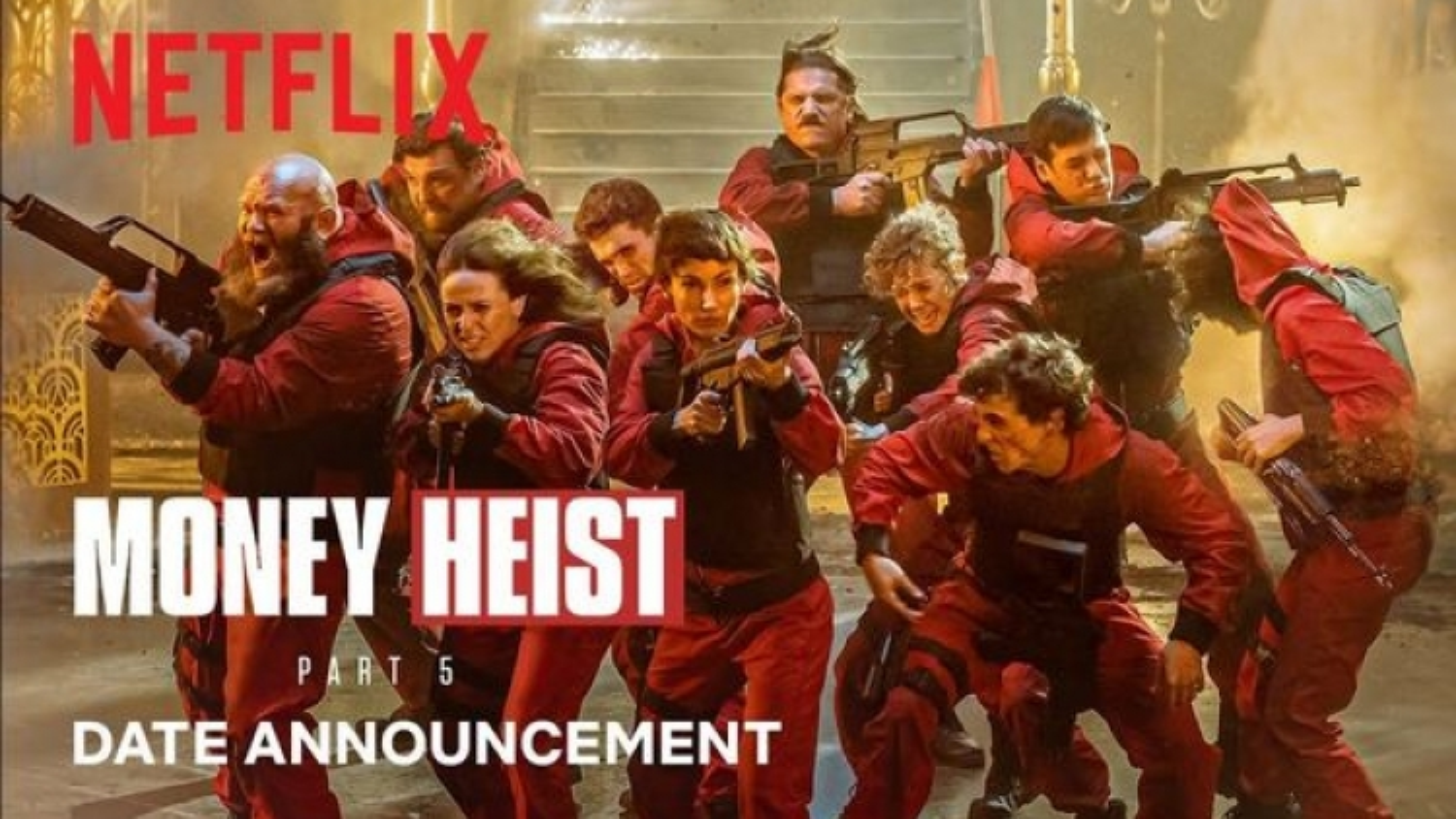 """Netflix tung trailer siêu phẩm ăn khách """"Money Heist"""" phần 5, ấn định ngày lên sóng"""