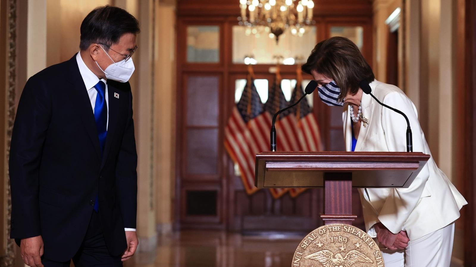 Tổng thống Hàn Quốc gặp chủ tịch Hạ viện Mỹ