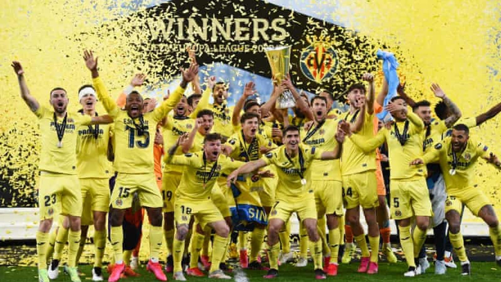 Toàn cảnh: Villarreal phá hỏng giấc mơ vô địch Europa League của MU