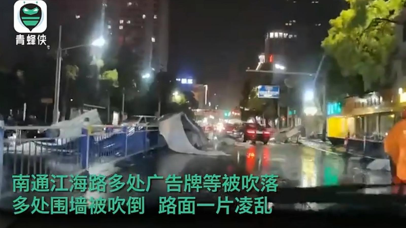 Thời tiết cực đoan ở Giang Tô (Trung Quốc) khiến hơn 100 người thương vong