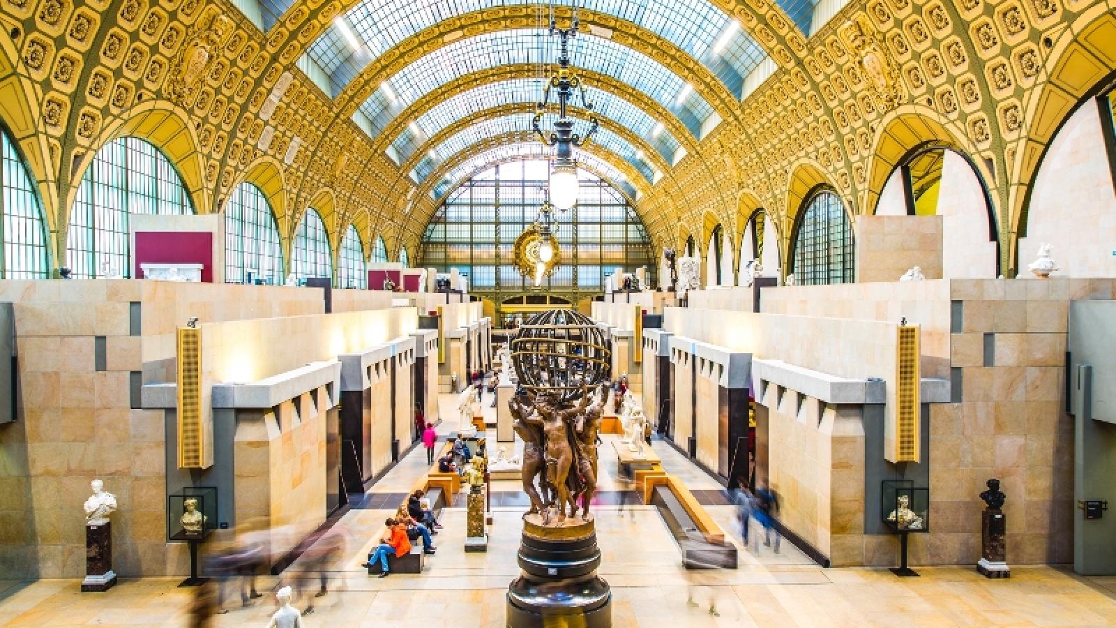 Bảo tàng tại Paris mở cửa trở lại