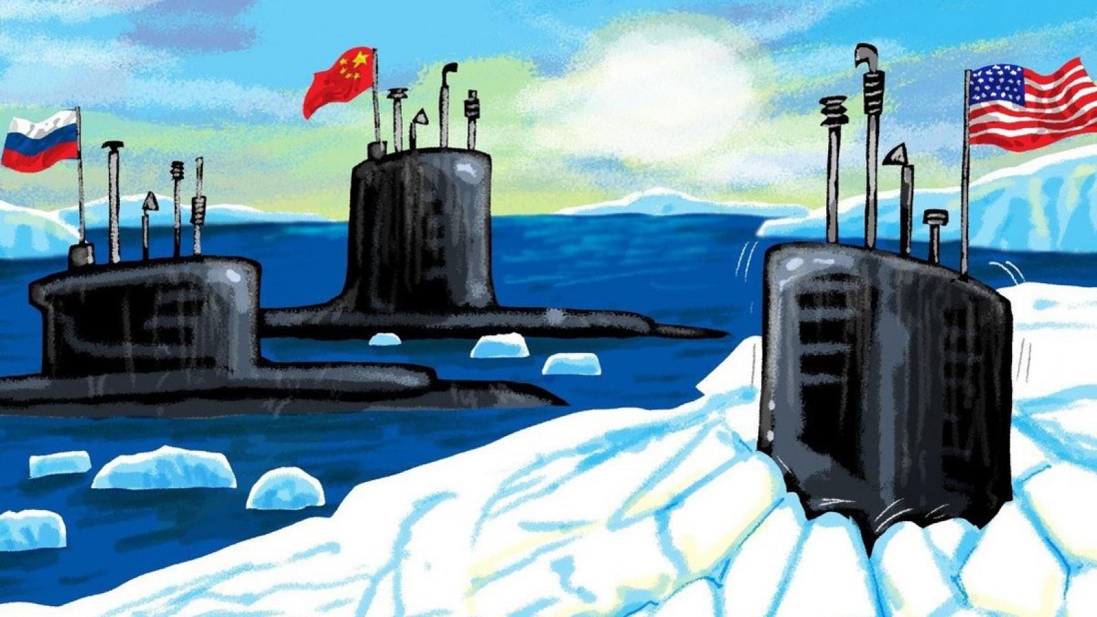 """""""Đấu trường"""" Bắc Cực tăng nhiệt khi Mỹ-Nga-Trung ra sức cạnh tranh"""