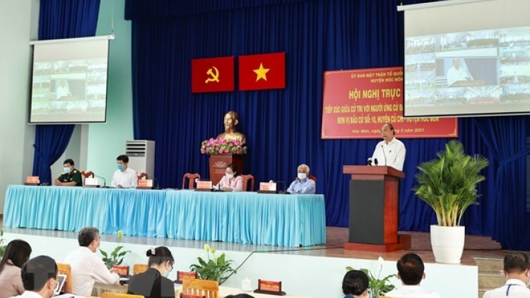 State President meets with Ho Chi Minh City voters