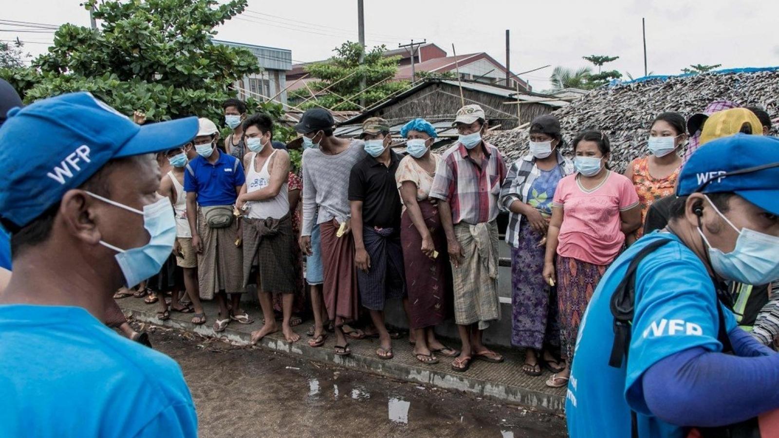 Nạn đói đe dọa hàng triệu người Myanmar