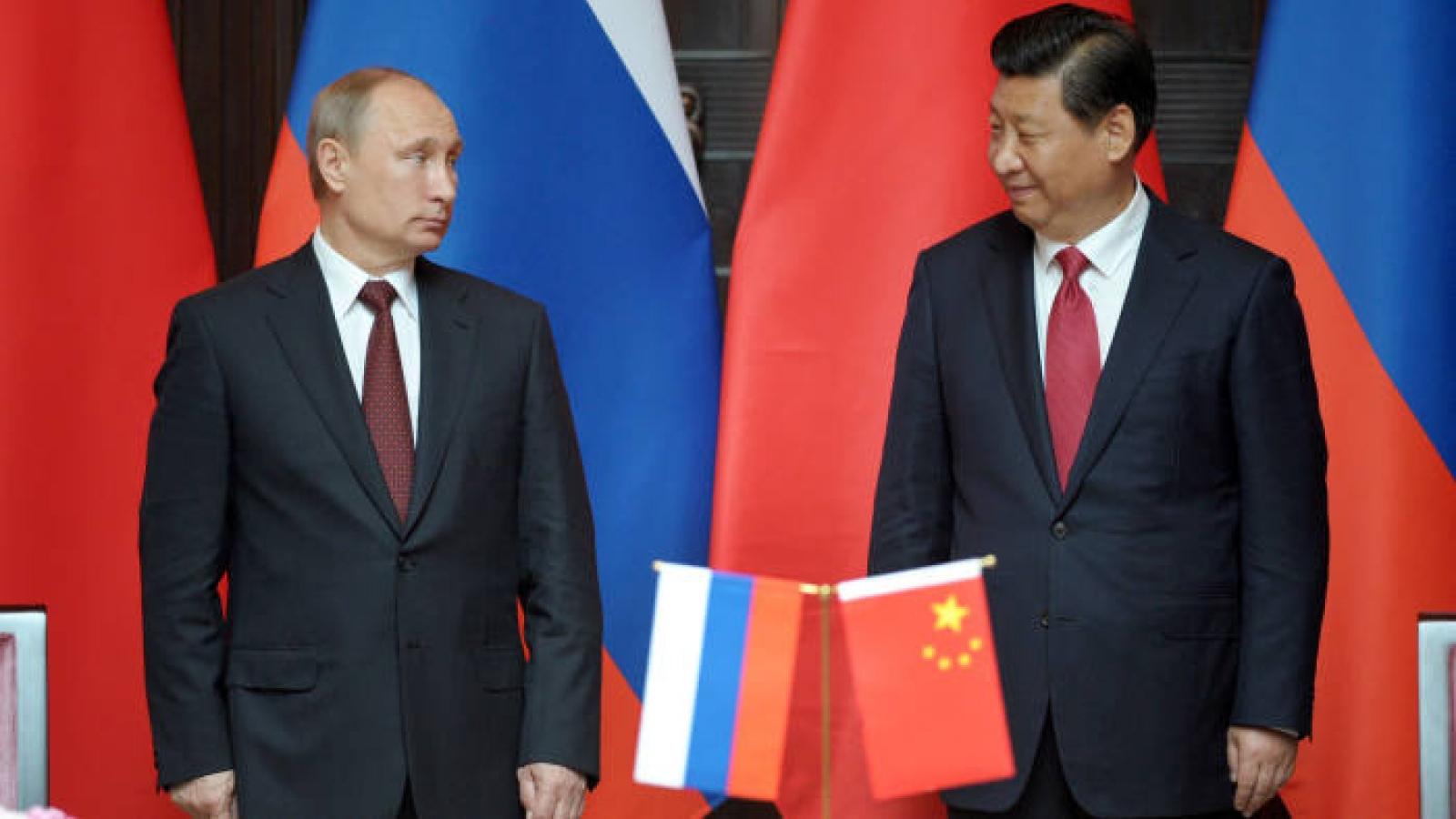 Nhu cầu chiến lược và những giới hạn trong mối quan hệ Nga-Trung Quốc