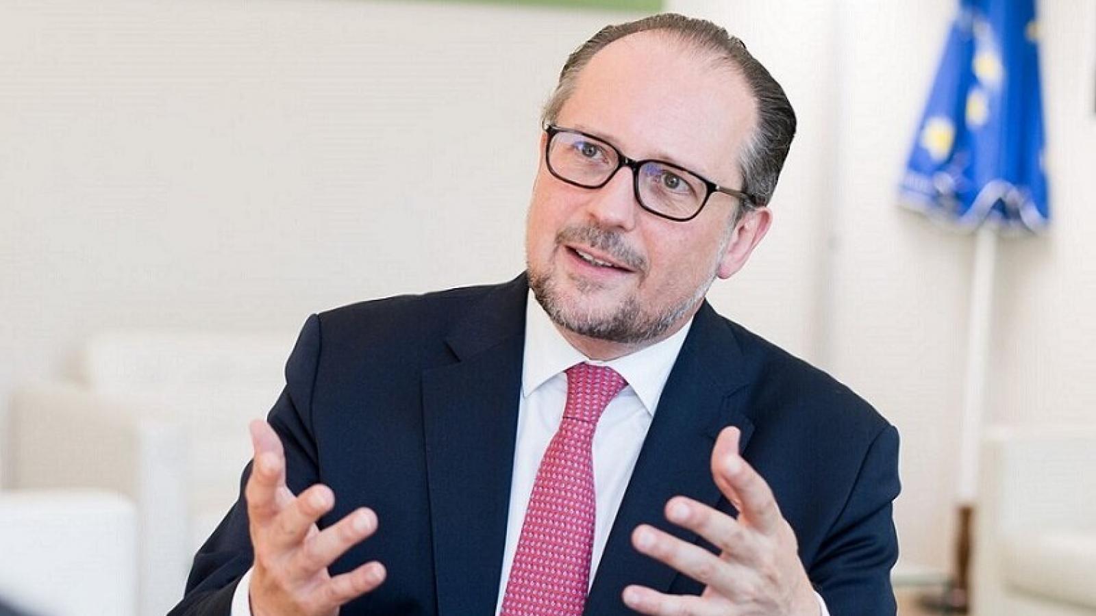 Áo chưa nhận được phản hồi từ Nga trong việc đối thoại với EU