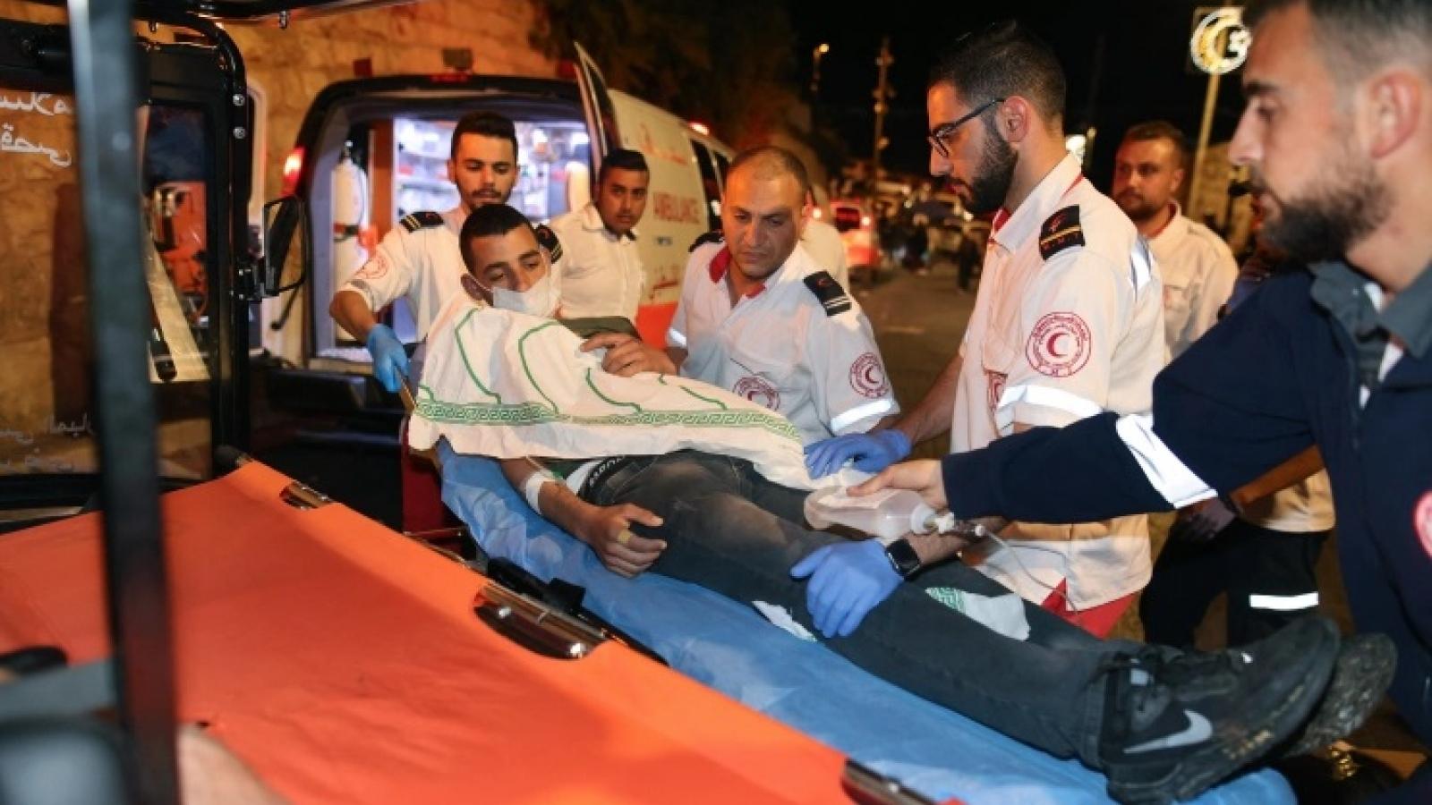 Cảnh sát Israel đụng độ với người Palestine ở Jerusalem, gần 170 người bị thương