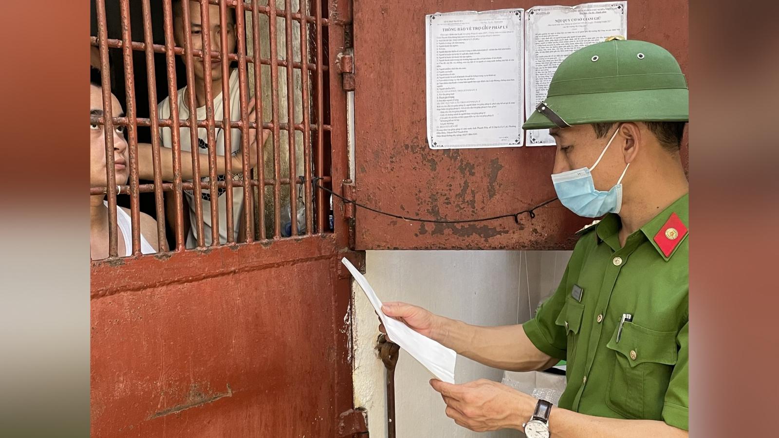 Khoảng 750 người bị tạm giữ, tạm giam ở Thanh Hóa sẽ bỏ phiếu tại buồng giam